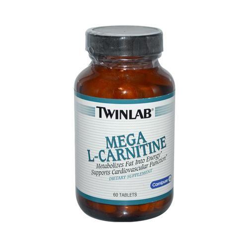 Twinlab Mega L-Carnitine (500mg 60 Tabs)