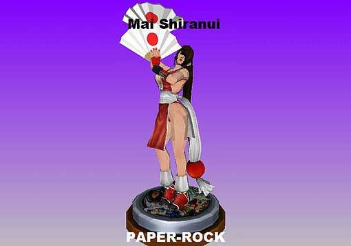 Fatal Fury & The King of Fighters - Mai Shiranui Ver.4 Free Papercraft Download - http://www.papercraftsquare.com/fatal-fury-the-king-of-fighters-mai-shiranui-ver-4-free-papercraft-download.html#FatalFury, #MaiShiranui, #TheKingOfFighters