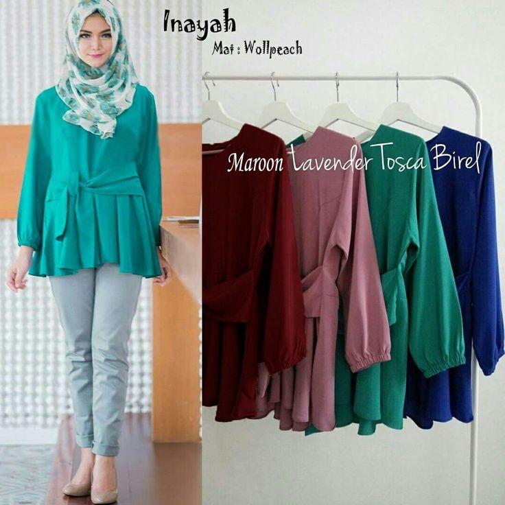 Beli Baju Atasan Wanita Inayah Blouse Unik - https://www.butikjingga.com/baju-atasan-wanita-inayah-blouse