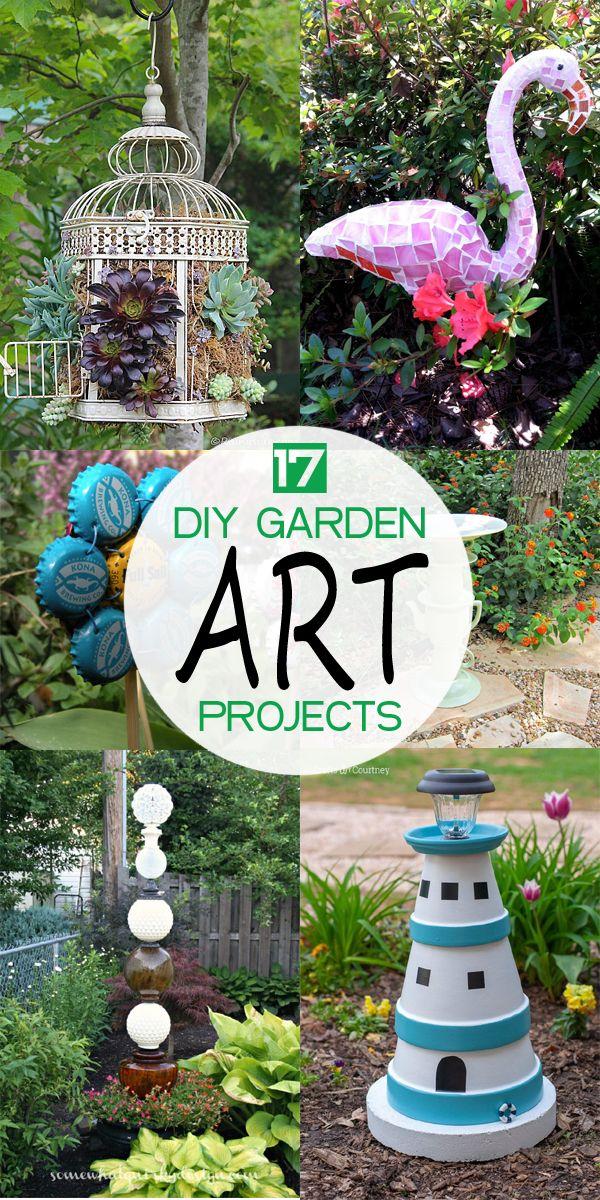 Easy Diy Garden Art Ideas