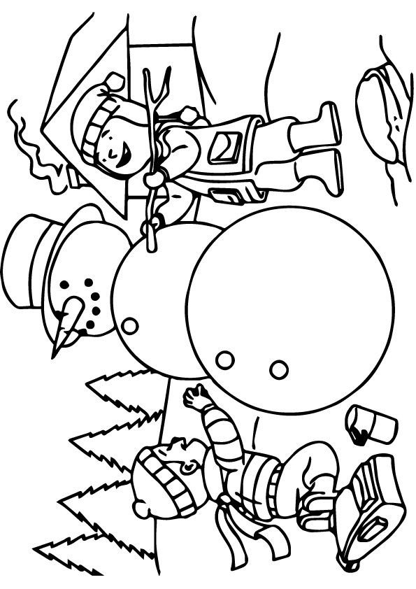 Coloring Page In 2020 Coloring Pages Winter Snowman Coloring Pages Crayola Coloring Pages