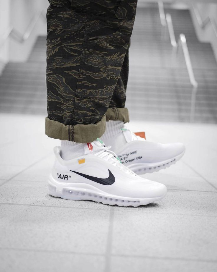 Nike Air Max 97 Off White | Style vestimentaire homme, Chaussure ...