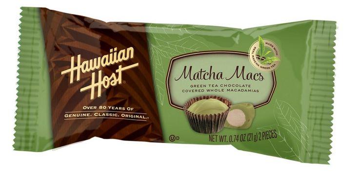 """ハワイアンホーストからハワイ限定『抹茶マックス』が新登場!"""" Hawaiian Host Inc Launches Hawaii Limited Matcha Macs."""" #Hawaii #ハワイ  http://www.poohkohawaii.com/gourmet/matchamacs.html"""