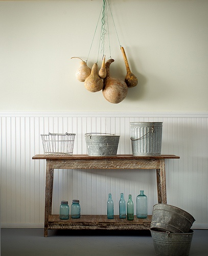Beautiful whitewash console made from reclaimed wood by Landrum Tables in Charleston  SC http:/ - 23 Best Images About Console Tables On Pinterest Charleston SC