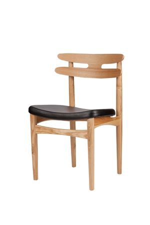 Furnish.com.au - HW Klein Bramin Replica Chair, Natural Beech Frame and Black PU Leather Seat, $199.00 (http://www.furnish.com.au/dining/dining-chairs/hw-klein-bramin-replica-chair-natural-beech-frame-and-black-pu-leather-seat/)