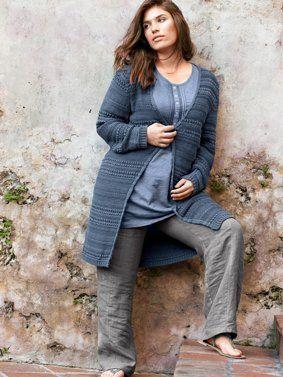 Zomer 2016 in mijn hoofd... linnen broek met elastische taille bij Ulla Popken (grote maat)
