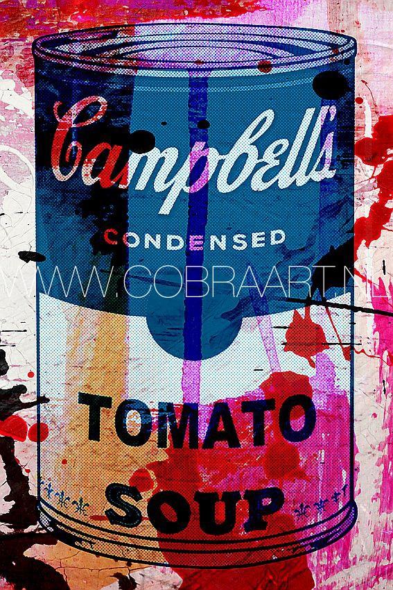 Zoals de naam impliceert, pop art in al haar facetten. Felle kleurrijke design, combinaties tussen fotografie op plexiglas en unieke geschilderde olie,- en acrylverf doeken op canvas. Voor meer collecties en  mogelijkheden, check www.cobraart.nl