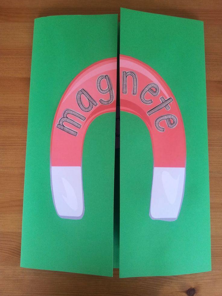 Reif für die Ferien: Lapbook zum Thema Magnete