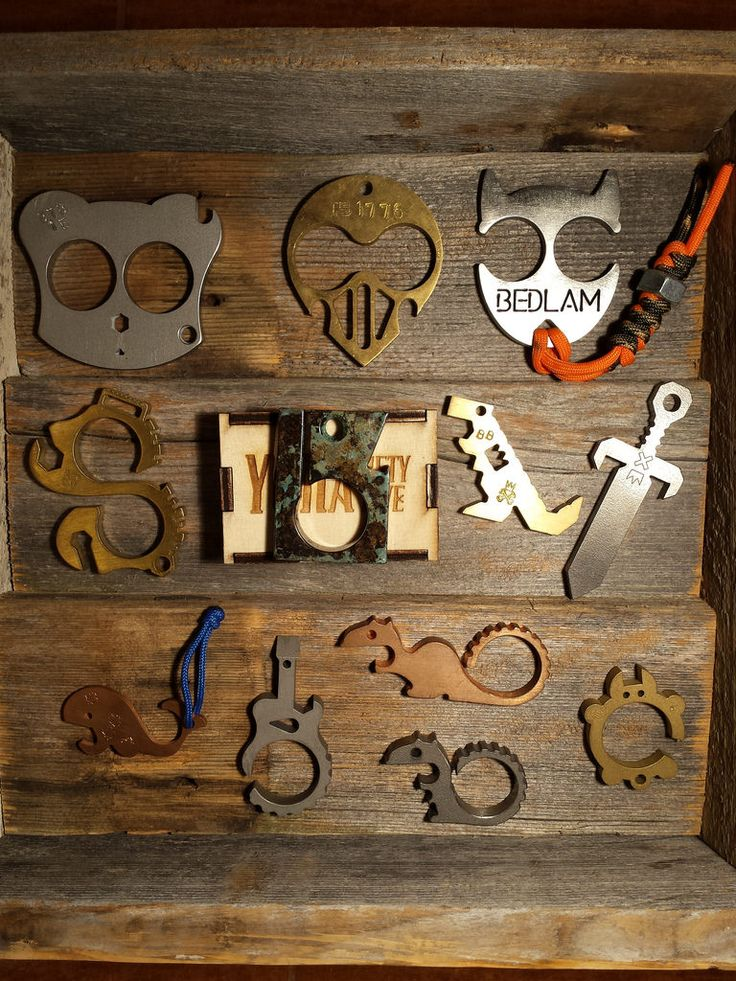 EDC Tools, Knuck Tools, Bottle Openers?