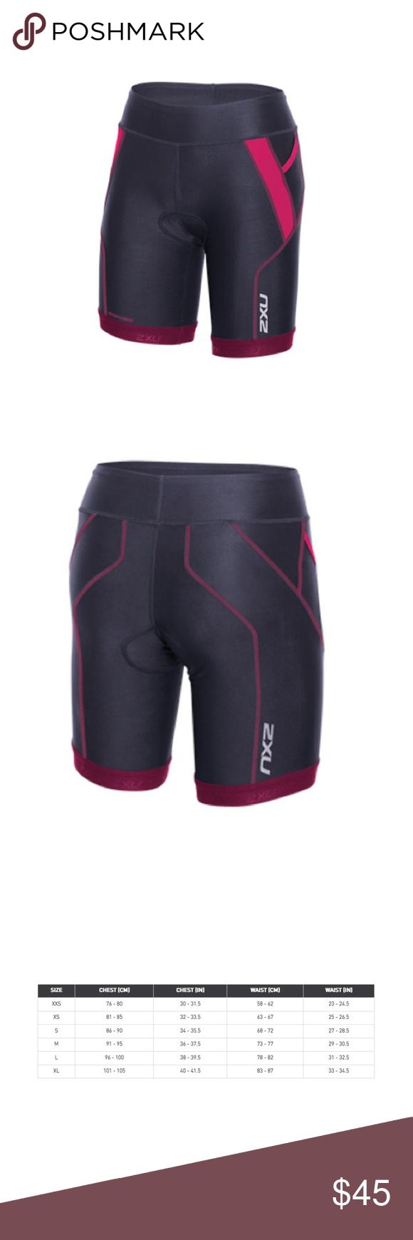 "2XU Perform Triathlon Short 7"" inseam Engineered from SBR POWER fabric, the Perform 7"" Tri Short is highly flexible and light weight, allowing for impressive, long lasting performance. Complete with flatlock stitching for comfort and a reinforced waistband for a premium fit, this is a great choice for short to longer distance triathlons.  UPF 50 sun protection, two pockets. Tri specific LD chamois. 2XU Shorts"