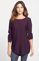 Eileen Fisher Ballet Neck Merino Tunic (Regular & Petite)