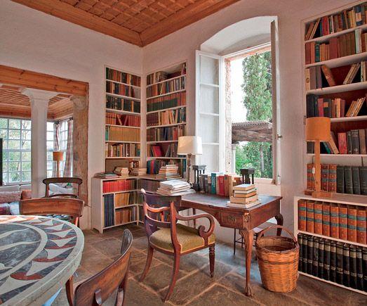 Patrick Leigh Fermor's house, Kardamyli Greece