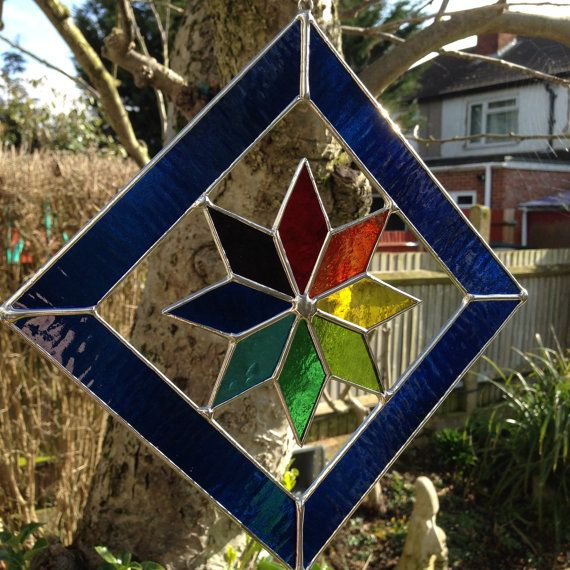 232 Best Images About Stained Glass- Geometric Patterns On