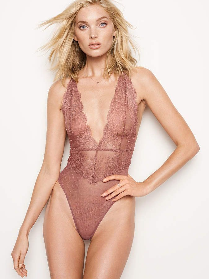 f35006edb8 ... only at Victoria s Secret. Very Sexy Chantilly Lace Plunge Teddy   fashion  womensfashion  sexy  lingere  ad