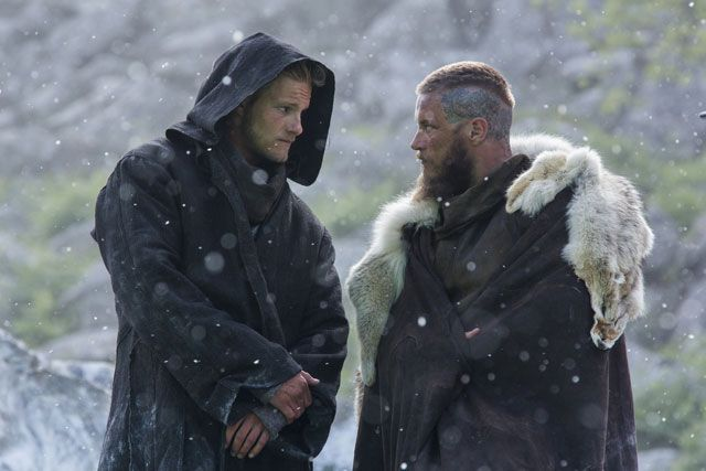 Travis Fimmel and Alexander Ludwig Vikings Season 3 Interview #vikings #travisfimmel