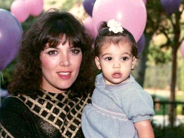 Kim Kardashian Childhood Album: Mother-Daughter Duo