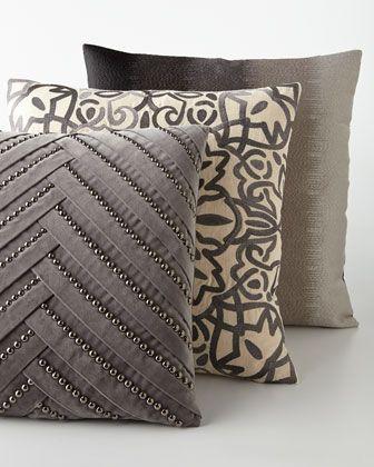 Marlena Pillows. Home Accessories We Love at Design Connection, Inc.   Kansas City Interior Design http://www.DesignConnectionInc.com./Blog