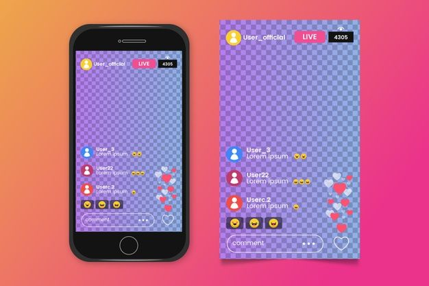Download Instagram Interface Streaming For Free Instagram Template Vector Free Instagram Story Template