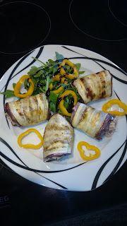 Matti's Kitchen: Auberginen-Thunfisch Röllchen