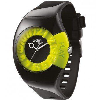 ¡Luce un reloj diferente, original... sé tu mismo! Reloj Negro y Verde Silicona Odm Play http://www.tutunca.es/reloj-negro-y-verde-silicona-odm-play