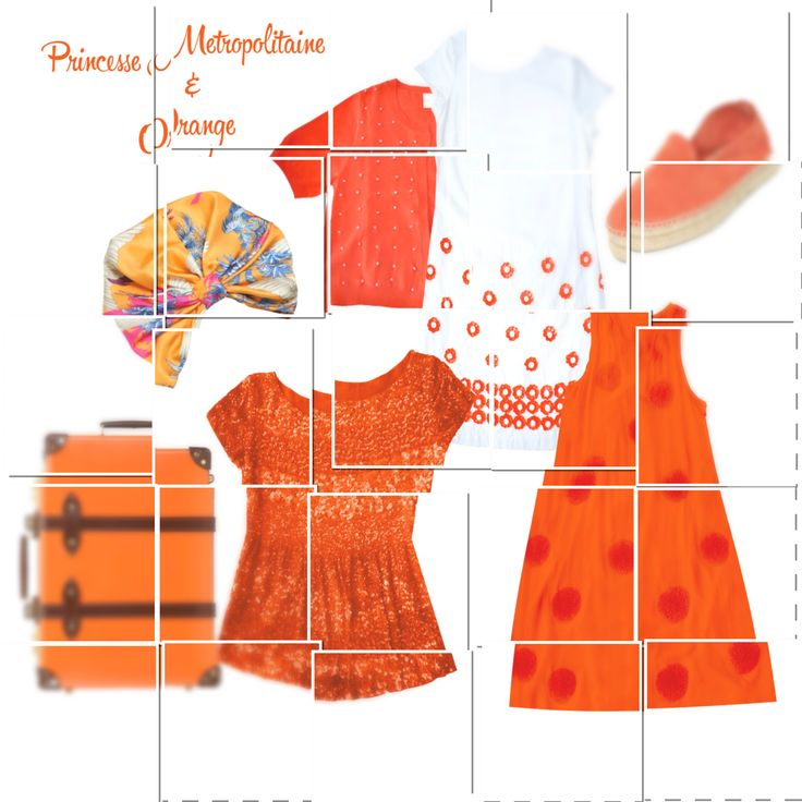 ARANCIONE....un colore che tante donne temono...ma per questa stagione è un MUST...non potrete non avere un capo in questa tonalità...che siate bionde, brune, more o rosse....mixatelo con i toni del cuoio o del bianco e così risplenderete come non mai! #princessemetropolitaine #springsummer #collection #orange #musthave