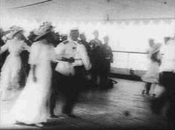 Visions of the Romanovs (The Grand Duchesses dancing on the deck of the...)
