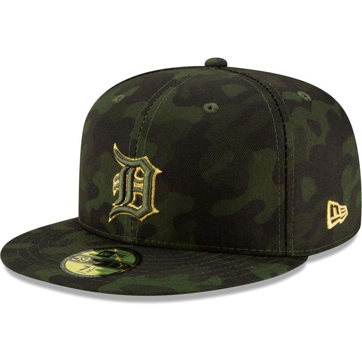 Detroit tigers new era 2019 mlb armed forces day onfield