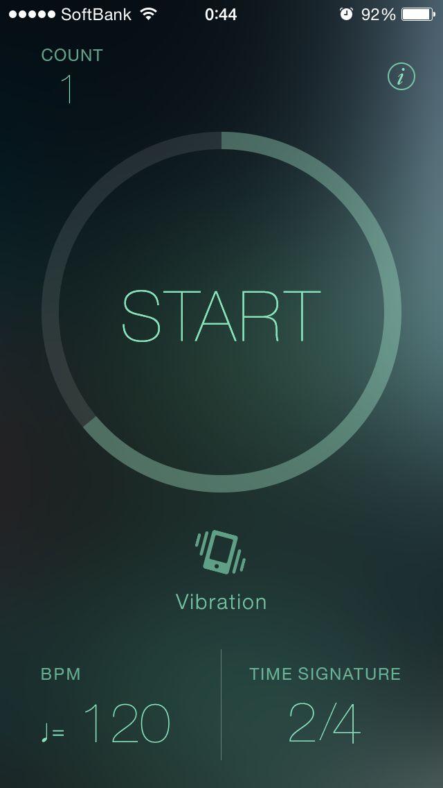 Metronome app