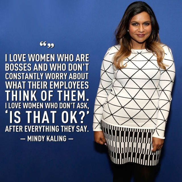 10 Mindy Kaling Quotes That Will Inspire You to Be a BOSS  - Cosmopolitan.com