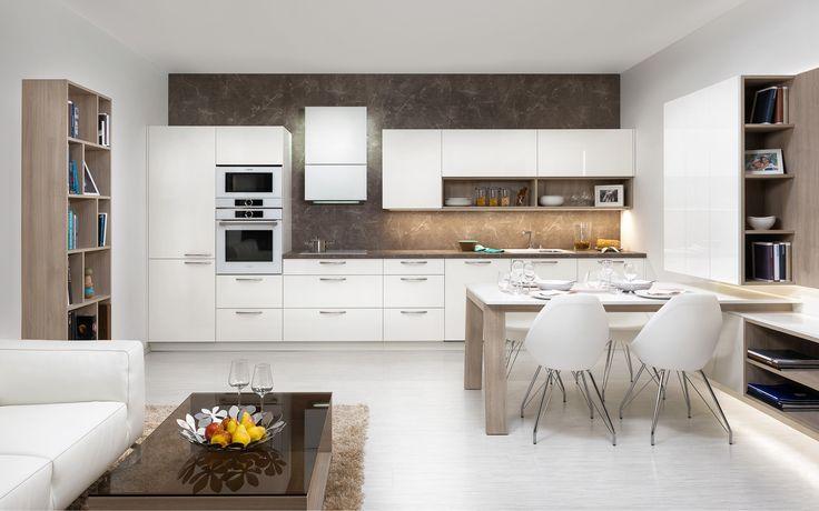 Model kuchyně STYLE je skvělou ukázkou, jak lze kuchyňský nábytek prolnout i do…