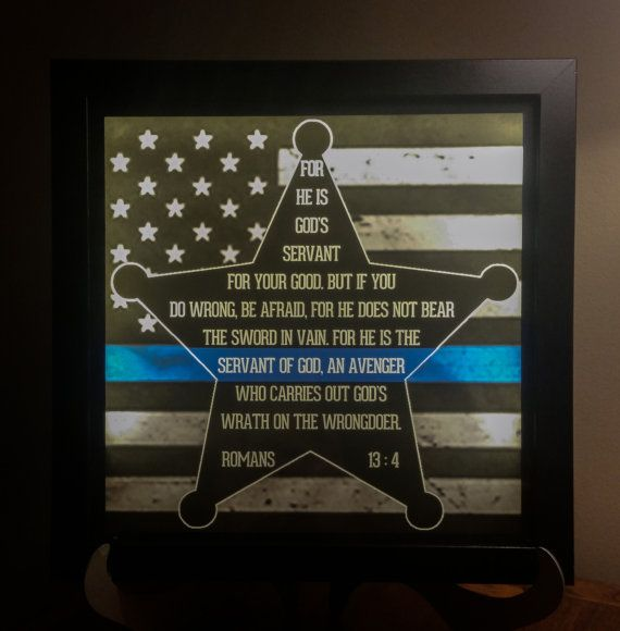Check out this item in my Etsy shop https://www.etsy.com/listing/225247866/law-enforcement-supportthin-blue-line