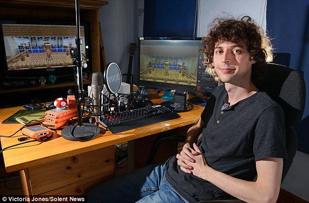 Joseph Garrett gives up job to upload Minecraft tips on Youtube ...a.k.a stampy