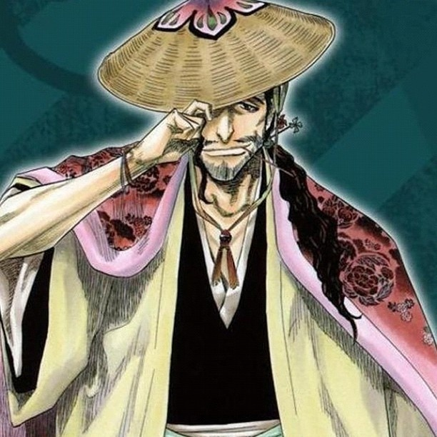 Captain Commander-- Shunsui Kyoraku