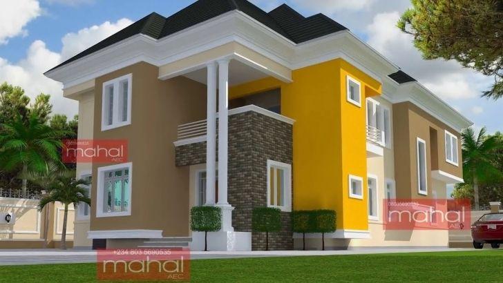 Fantastic Modern Nigerian House Design Ideas Youtube Modern Nigerian House Plans Image Hous Latest House Designs Architect Design House Duplex House Design Modern house plan nigeria