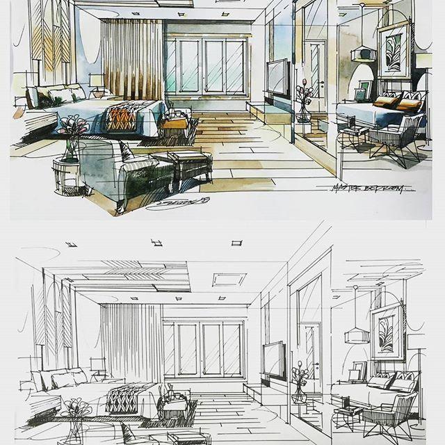 Home Decoration Design Ideas Code 2428294698 Interior Design Drawings Interior Design Sketches Interior Sketch