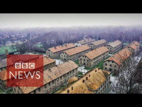 A Drone Flew Over Auschwitz And Captured This Somber Footage #drones #ingameplay #videos