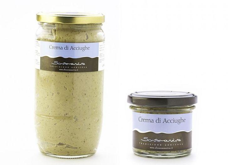 Crema di Acciughe -90 g.  TALIANO-SLOVENSKY  Crema di acciughe olio extra vergine di oliva 100% ideale per tartine, antipasti e pinzimonio. Confezione in vaso in vetro ...
