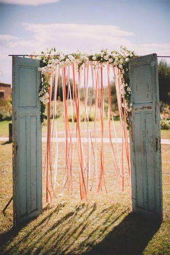 42 am meisten festgesteckte Hochzeitshintergrundideen 2019   – Wedding decorations