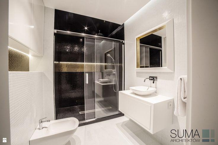 CLASSIC ONE - REALIZACJA - SUMA Architektów - zdjęcie od SUMA Architektów - Łazienka - Styl Glamour - SUMA Architektów