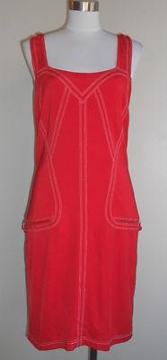 Red Versace Dress