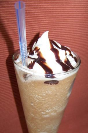 CONFIRMED - 1/2 cup cold coffee 3 tablespoons sugar 2/3 cup milk 12 ice cubes 3 tablespoons chocolate syrup Blend it all until smooth and add whipped cream to taste. BAM! Made At Home Starbucks Mocha Frappe (Grande Size)!