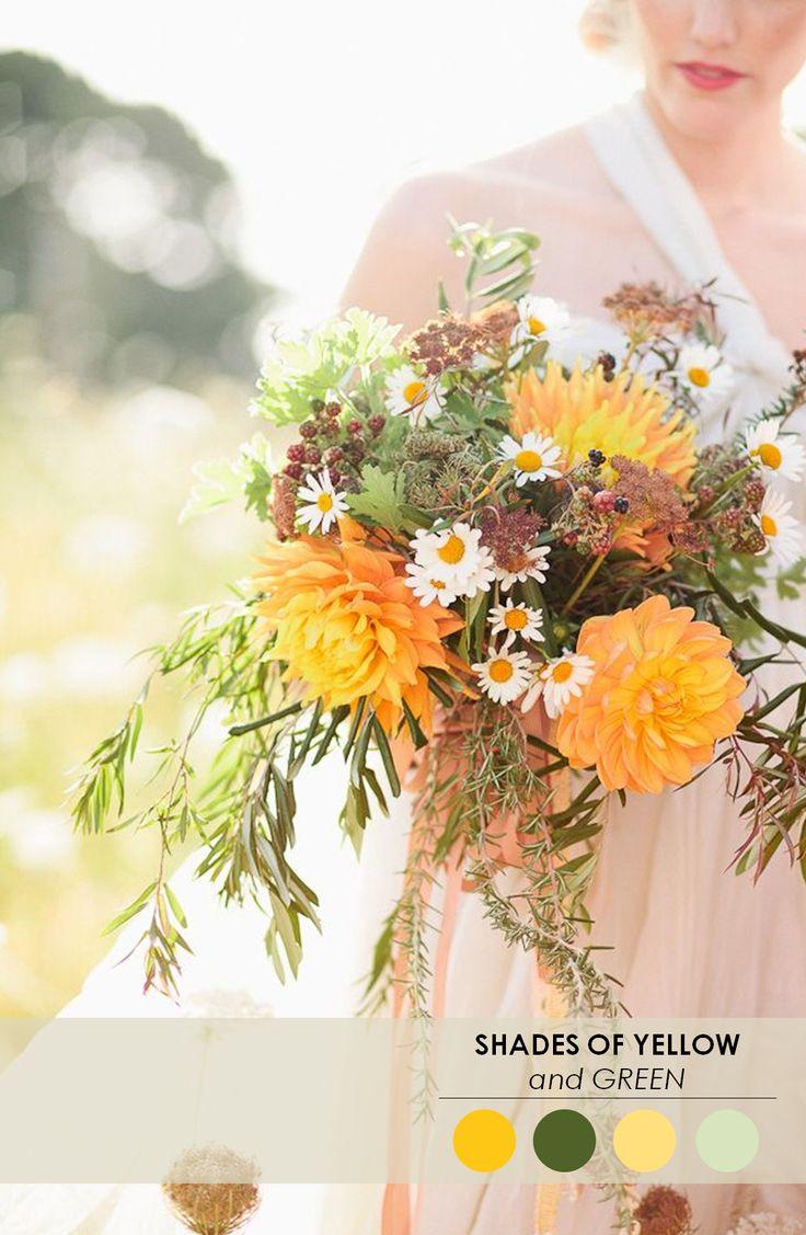 Wedding Bouquet Flower Combinations : Best ideas about green fall weddings on