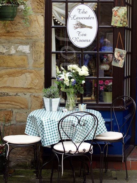 The Lavender Tea Rooms -Bakewell, Derbyshire, England