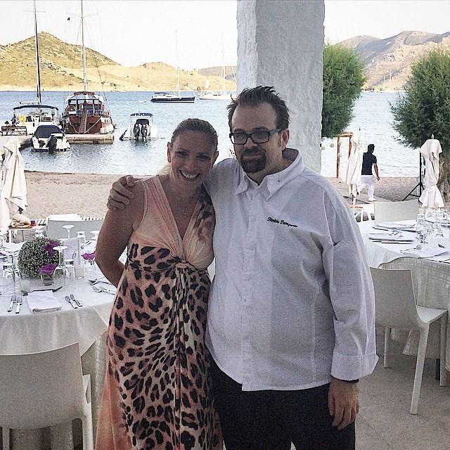 #Chefinlove .|  #wedding #patmos #patmosaktis