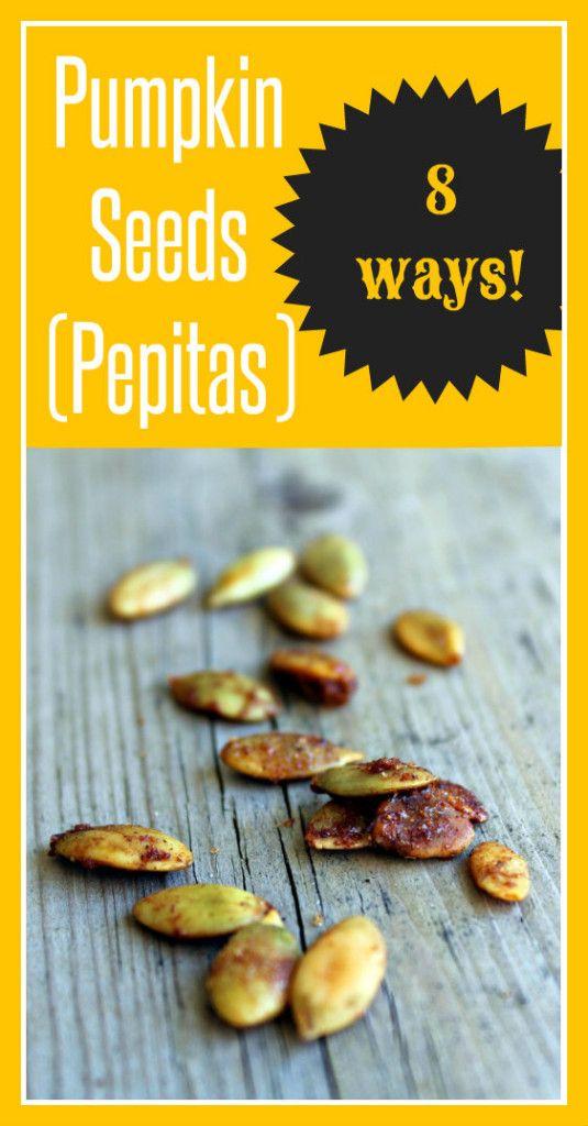 Pepitas 8 Ways! | RachelCooks.com @Rachel Cooks | Rachel Gurk