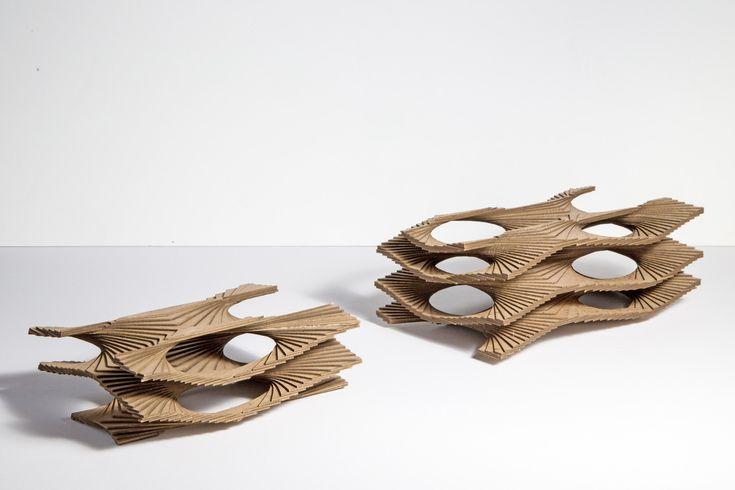 Architectural Model - Khoa Vu - Helicoid Surface - UC Berkeley
