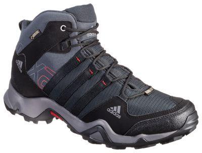 adidas outdoor AX 2 Mid GTX GORE-TEX Hiking Boots for Men - Dark Shale - 10.5 M
