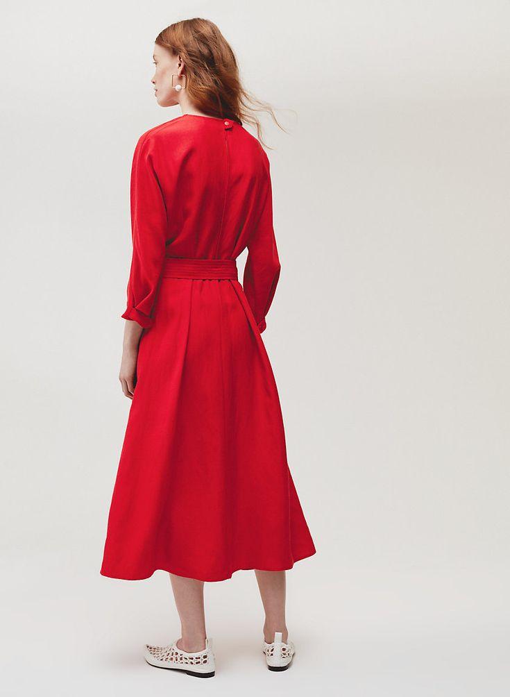 Le Fou Wilfred TAVIN DRESS | Aritzia