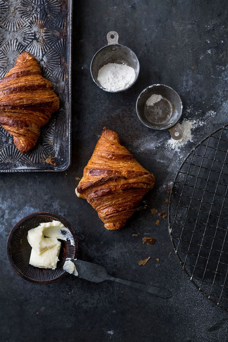 touchtastedesign.squarespace.com, croissants, dark, food photography