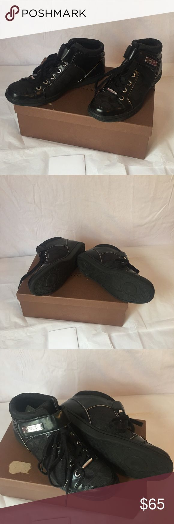 authentic coach sneakers - rarely ever worn  - original box not included Coach Shoes Sneakers